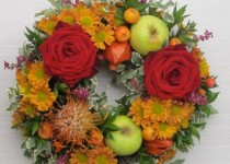 Corona di Rose e Fiori misti