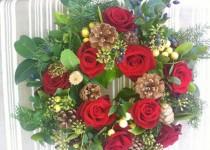 Corona di Rose e Verde