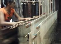 Amarapura, tessitura della seta