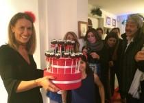 """La Roby con i cake pops fatti da Fulvia, """"La Camelia"""""""