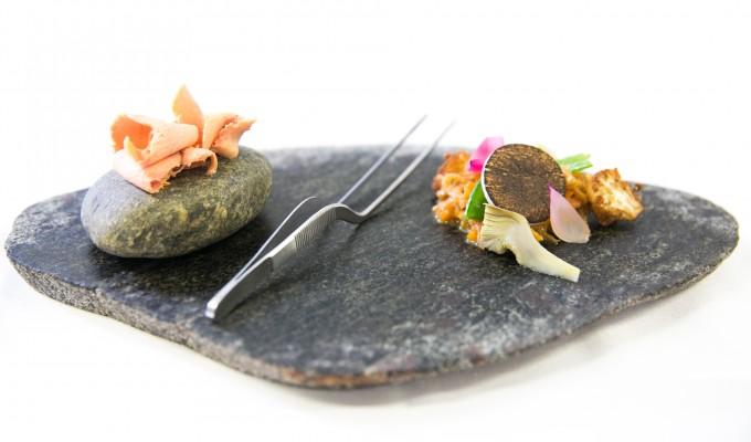 Trippa e foie gras