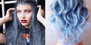 Denim hair 1