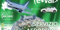 E-VAI: car-sharing elettrico presenta SERVIZIO AEROPORTI