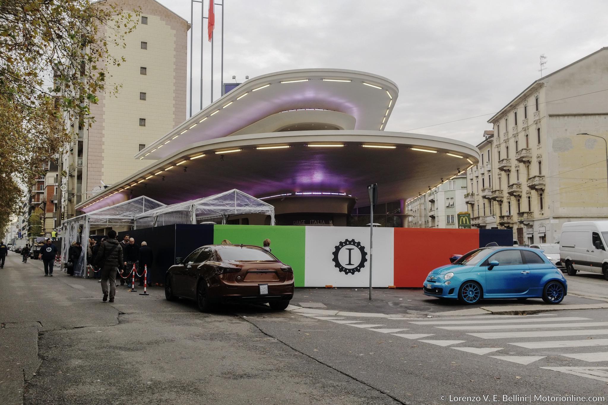 Lapo elkann fa risplendere piazzale accursio lagianni - Garage italia ristorante milano ...